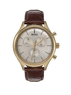 hugo-boss-black-companion-champagnenbspdial-brown-leather-strap-mens-watch