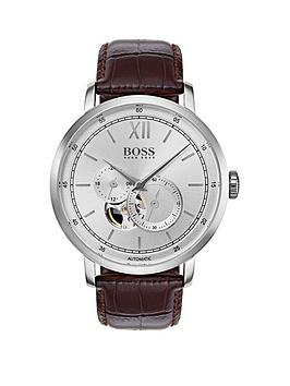 boss-1513505-signature-silver-dial-brown-leather-strapnbspmens-watch