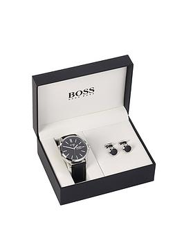 boss-hugo-boss-james-black-dial-day-date-leather-strap-mens-watch-and-cufflink-gift-set