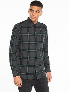 farah-rawsthorne-checked-flannel-shirt