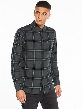 farah-rawsthorne-checked-flannel-shirt