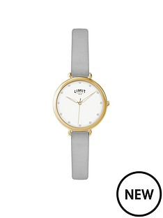 limit-limit-gold-plated-with-soft-touch-strap-ladies-watch