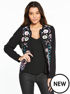 v-by-very-floral-embellished-jacket