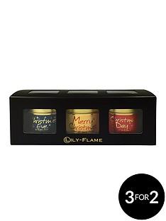 lily-flame-lily-flame-christmas-gift-set-christmas-eve-merry-christmas-amp-christmas-day-tin-candle