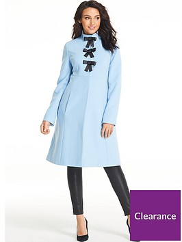 michelle-keegan-bow-front-funnel-neck-formal-coat