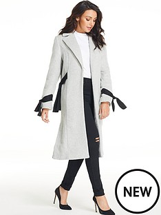 michelle-keegan-tie-sleeve-coat