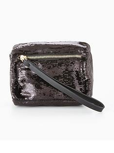 v-by-very-mini-box-wristlet-clutch-sequin