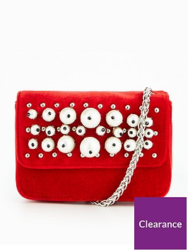 v-by-very-micro-mini-velvet-pearl-embellished-crossbody