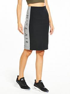 nike-sportswear-air-skirt-blackgrey-heather