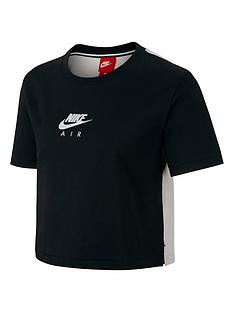 nike-sportswear-air-top-blackcreamnbsp