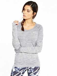 nike-running-dri-fit-knit-long-sleeve-top-grey-heathernbsp