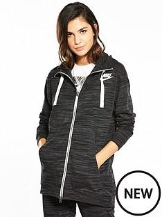 nike-sportswear-gym-classic-hoodie-black-heather
