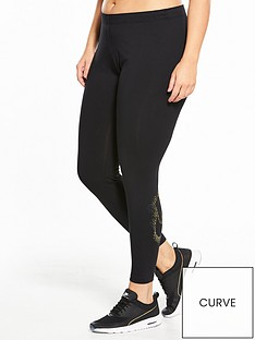 nike-sportswear-plus-sizenbspshine-legging-blacknbsp