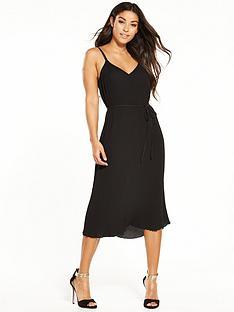 warehouse-plisse-cami-dress