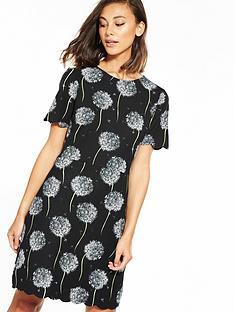 warehouse-dandelion-scallop-ponte-dress