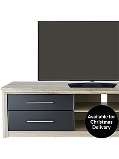 consort-jupiter-2-piece-ready-assembled-package-large-sideboard-amp-extra-large-tv-unit