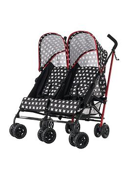 obaby-apollo-twin-pushchair-crossfire