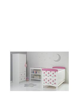 obaby-cottage-rose-3-piece-furniture-set