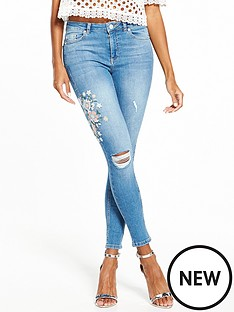 miss-selfridge-embroidered-lizzie-skinny-jean