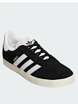 adidas Originals Adidas Originals Gazelle Junior Trainer - Black Picture