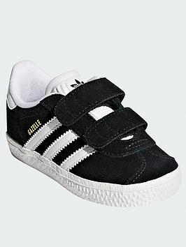 adidas Originals Adidas Originals Gazelle Infant Trainer - Black Picture