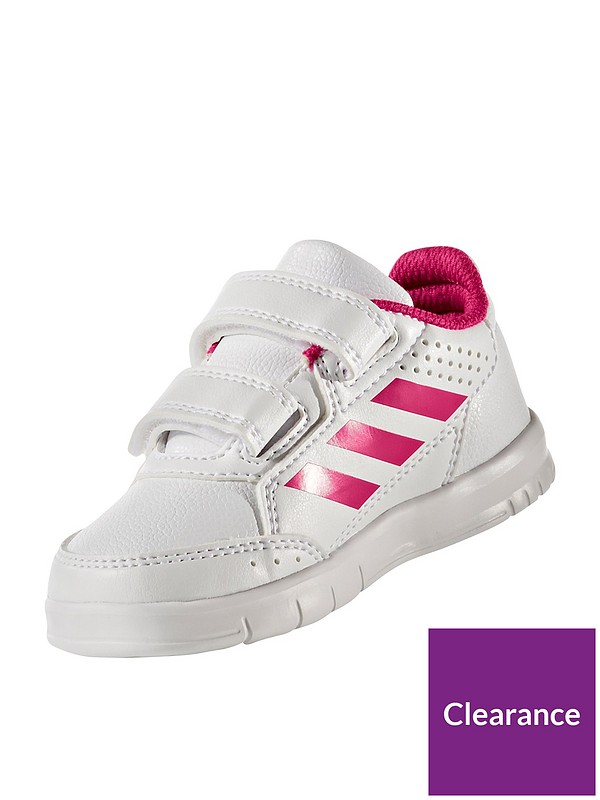 AltaSport CF Infant Trainers - White/Pink