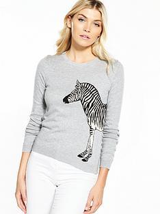 oasis-london-zoo-zebra-knit-jumper