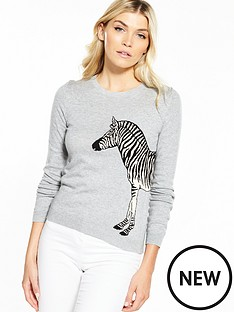 oasis-london-zoo-zebra-knit-jumper