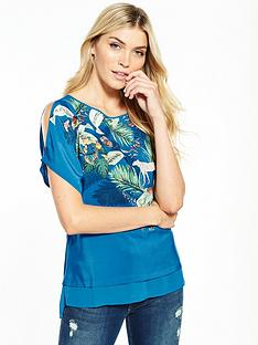 oasis-sequin-zoo-woven-front-top