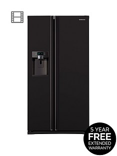 samsung-rsg5mubp1xeu-90cm-american-style-frost-free-fridge-freezer-with-plumbed-ice-and-water-dispenser-black