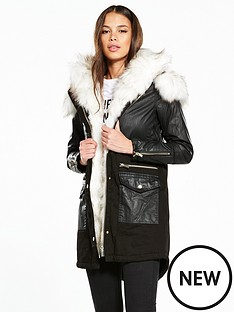 river-island-river-island-faux-fur-lined-hooded-parka