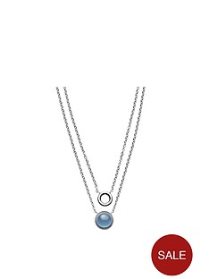 skagen-skagen-stainless-steel-polished-blue-sea-glass-multi-strand-ladies-necklace