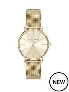 armani-exchange-armani-exchange-lola-gold-tone-mesh-bracelet-ladies-watch