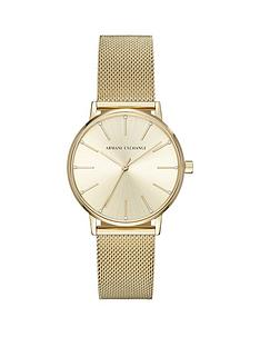 armani-exchange-lola-gold-tone-mesh-bracelet-ladies-watch