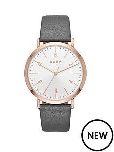 dkny-dkny-minetta-rose-gold-case-grey-leather-strap-ladies-watch