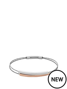 skagen-skagen-stainless-steel-silver-and-rose-tone-multi-strap-ladies-bracelet