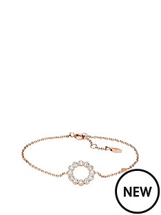 fossil-fossil-stainless-steel-rose-gold-tone-glitz-ring-bracelet