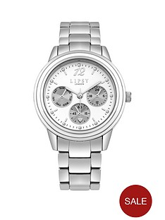 lipsy-glossy-white-chronograph-dial-stainless-steel-bracelet-ladies-watch