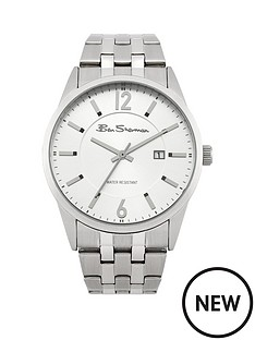 ben-sherman-ben-sherman-silver-sunray-dial-polished-and-brushed-finish-mens-watch