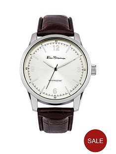 ben-sherman-ben-sherman-silver-dial-brown-strap-mens-watch