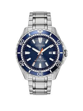 Citizen Citizen Citizen Eco-Drive Promaster 200M Diver Stainless Steel  ... Picture