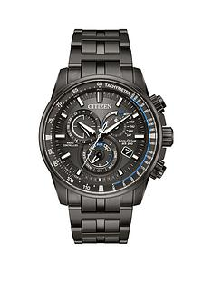 citizen-citizen-eco-drive-perpetual-chrono-at-grey-ion-plated-stainless-steel-bracelet-mens-watch
