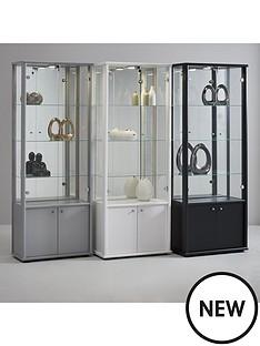 neptune-double-mirrored-display-unit-white