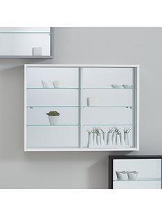 orbit-wall-mounted-glass-door-mirrored-back-display-unit-black