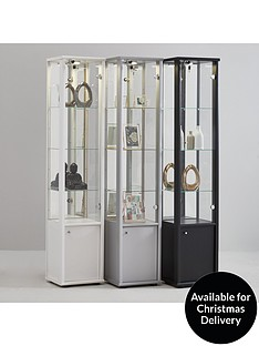 neptune-single-glass-door-mirrored-back-display-unit-with-light-white