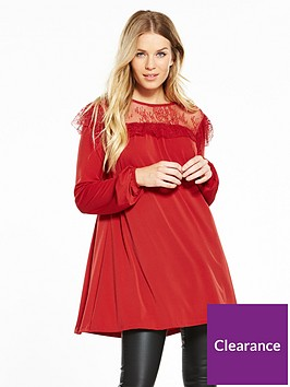 v-by-very-lace-yoke-tunic