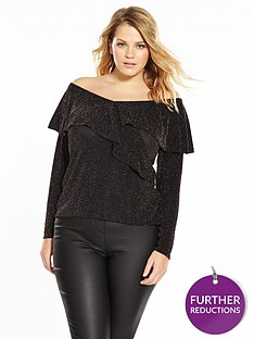 v-by-very-curve-off-the-shoulder-lurex-top