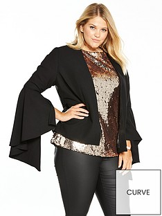 v-by-very-curve-statement-sleeve-blazer