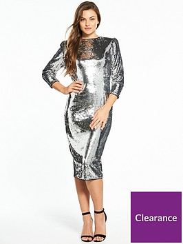v-by-very-sequin-midi-dress-silver
