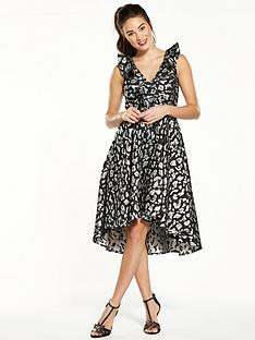 v-by-very-jacquard-high-low-dress